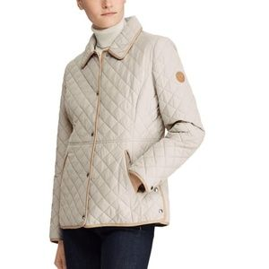 NWT! Ralph Lauren English Blazer Quilt Jacket